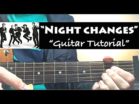 Xxx Mp4 NIGHT CHANGES One Direction Guitar Tutorial Lesson With Chords 3gp Sex