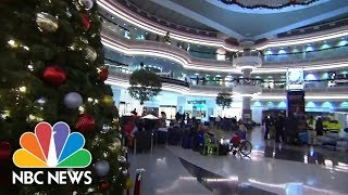 Cheers And Applause As Power Is Restored To Atlanta Airport | NBC News
