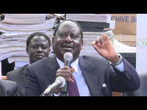 Raila to Duale You are not in my league