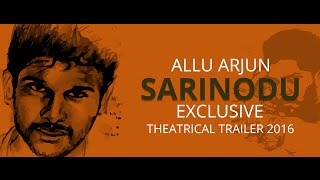 Sarinodu Latest Trailer 2016 | Exclusive official theatrical trailer allu arjun