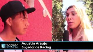 Planeta Racing TV:  Entrevista a Agustín Araujo.