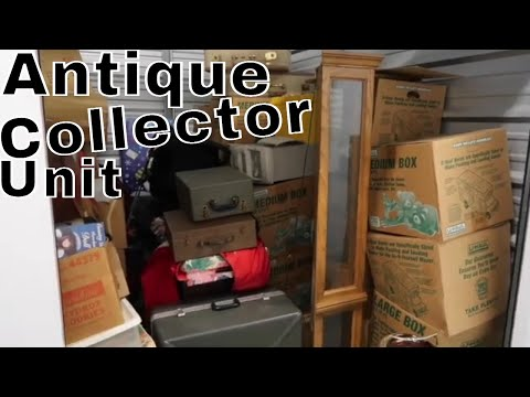 I Bought An Abandon ANTIQUE Storage Unit Paid on for 19 Years