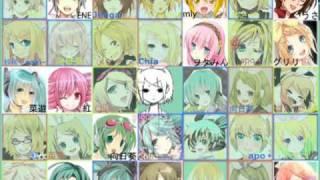 【合唱】 メランコリック / Melancholic - Nico Nico Chorus