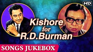 Best of KISHORE KUMAR And R.D.BURMAN | Romantic Love Songs | Evergreen Old Hindi Songs Collection