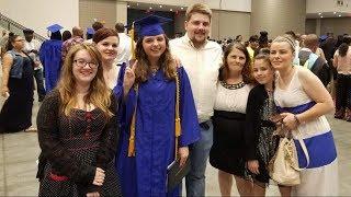 Former homeless teen graduates at top of her class