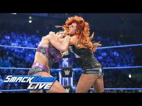 Xxx Mp4 Flair Vs Lynch Vs Carmella Winner Faces Asuka At Royal Rumble SmackDown LIVE Jan 8 2019 3gp Sex