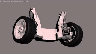 El Diablo de la Carretera - Vehicle Suspension demo.
