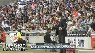 Así se vivió el Rayados-Chivas desde las bancas de Mohamed y Almeyda