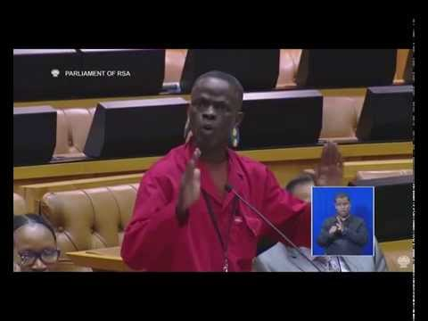 Chaos : ANC members  coming drunk to parliament