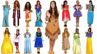 Every Disney Princess Costume Ever for Halloween. Totally TV