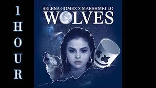 [HD] Selena Gomez ft. Marshmello - Wolves (1 Hour Version)