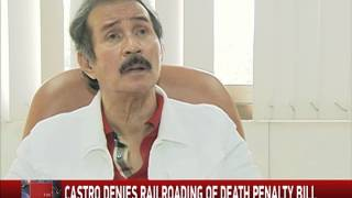 Atienza: Duterte pressuring lawmakers to pass death penalty bill