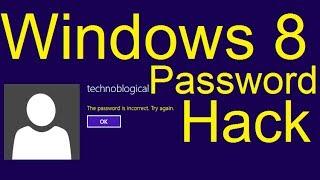 Hack Local Windows 8 Passwords