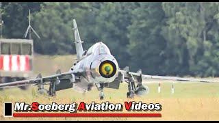 POWERFUL FULL AFTERBURN Departure 3x Su-22 Fitters Polish AF; Volkel 2013