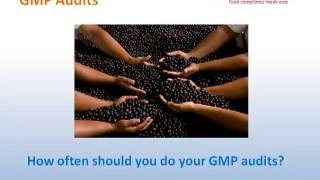 How to determine the frequency of GMP audits