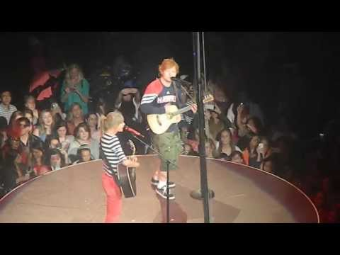 Xxx Mp4 Taylor Swift And Ed Sheeran Everything Has Changed Live In Atlanta 3gp Sex