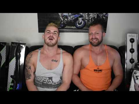 Our new sex toy review segment is Sex Toys With Oz Gym Boys
