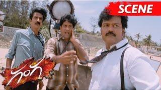 Manobala And Chaams Hilarious Comedy Scene - Ganga Movie Scenes