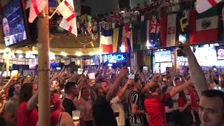 England national anthem vs Croatia World Cup semi final 2018