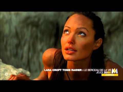 Lara Croft tomb raider le berceau de la vie jeudi 20h50 M6 7 7 2014 angelina jolie