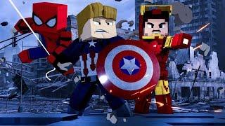 Minecraft: AVENGERS - ESCADONA ‹ AMENIC ›