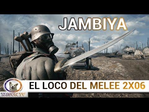 Battlefield 1 El Loco del Melee La Daga de Lawrence de Arabia