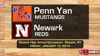 HS Basketball: Penn Yan @ Newark