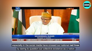 Presidential Broadcast: President Buhari Remains Mute On Illness
