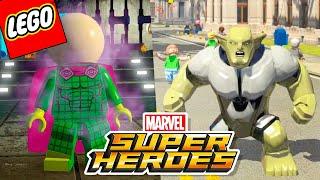 LEGO Marvel Super Heroes #58 - MYSTERIO E DUENDE VERDE GIGANTE