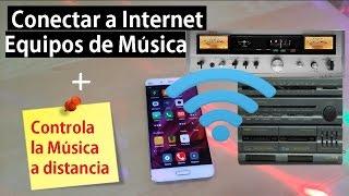 Conectar tu Android a equipos de Música viejos y editar Playlist a distancia.