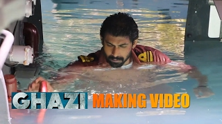 Ghazi making || Rana Daggubati || Taapsee || The Ghazi Attack || PVP Cinema