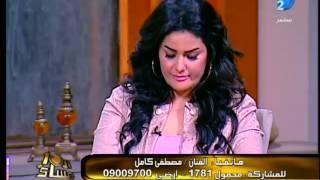 خناقة سما المصرى و مصطفى كامل بشتيمة والفاظ على الهواء