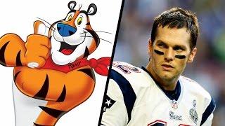 Tom Brady vs. Tony The Tiger - Celebrity Feuds