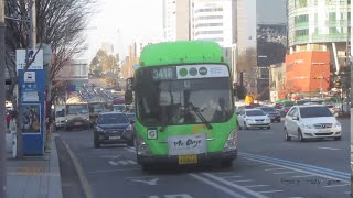 Buses in Seoul, South Korea