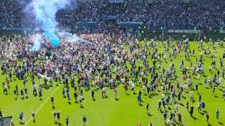Cardiff City Pitch Invasion