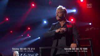 Björn Ranelid Feat. Sara Li - Mirakel - Melodifestivalen 2012 - HD