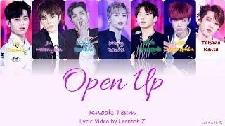 produce 101 knock team open up official lyrics rom han eng