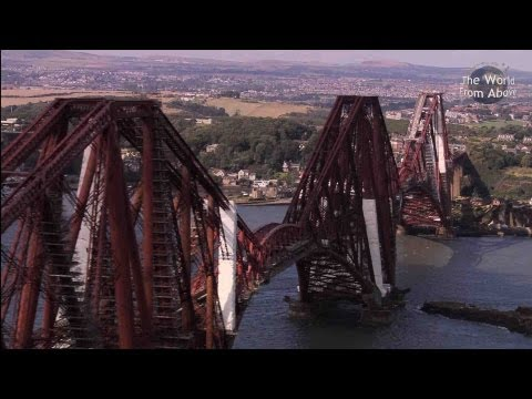 Scotland from Above Edinburgh to Fingal s Cave Route HD