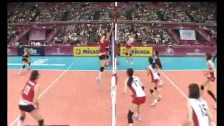 مباراة كرة الطائرة تركيا- اليابان