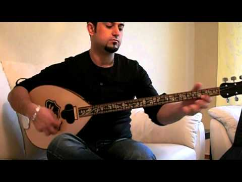 Uşşak oyun havasi played by Ali Shaker.MOV