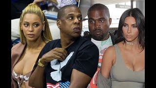 BEYONCE AND JAY Z BEEF WITH KIM AND KANYE WEST COMPLETE BREAKDOWN