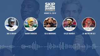 UNDISPUTED Audio Podcast (08.08.19) with Skip Bayless, Shannon Sharpe & Jenny Taft   UNDISPUTED