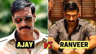 Who is Better?   Simmba or Singham   Ranveer Singh  OR Ajay Devgan