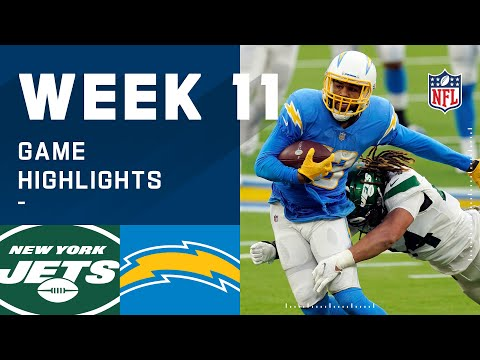Jets vs. Chargers Week 11 Highlights NFL 2020