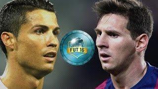 رونالدو أم ميسي/ فيفا التمت تيم درافت/ FIFA 16