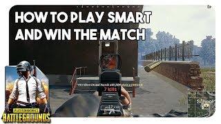 PUBG | How to play smart and win the match | Farsi | PUBG نکته های مهم برای اول شدن در