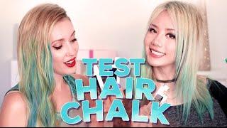 CRASH TEST / HAIRCHALK L'Oréal Professionnel (avec Lilith Moon et Shiu Li)