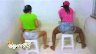 Mc Opanka - Piska o BumBum - Nina Rocha & Aline Dely