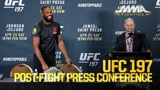 UFC 197 Post-Fight Press Conference
