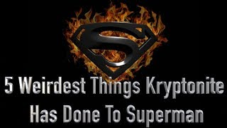 Superman Turns Gay And 4 Other Things Kryptonite Has Done To Him